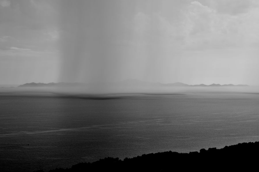 Rainfall at Sea - Croatia