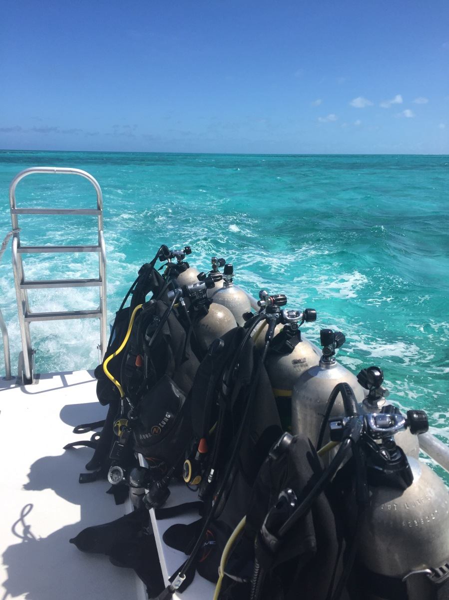 Ready to go - Diving Belize