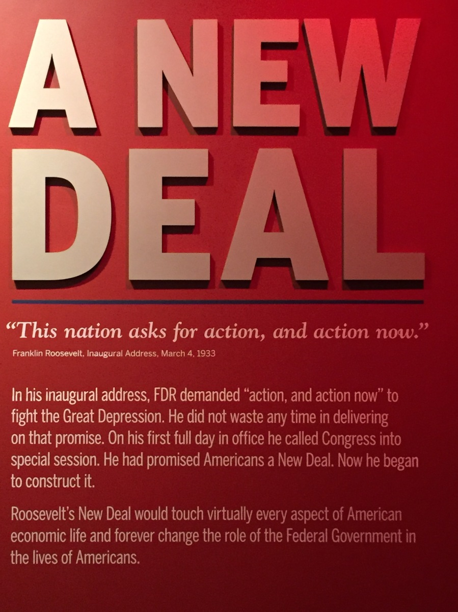 A New Deal - FDR Presidential Library - Hyde Park on Hudson